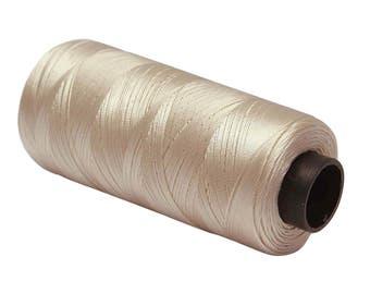 Beige Thread, 1 Pcs Big Thread Spool, Sewing Machine Thread, Polyester Thread, Wholesale Quilting Thread, Machine Embroidery Thread MT148A
