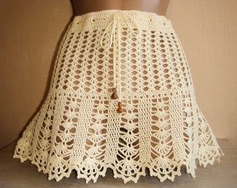Summer mini skirt.