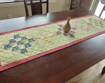 Springtime Quilted Table Runner