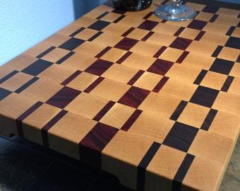 Handmade End Grain Cutting Board