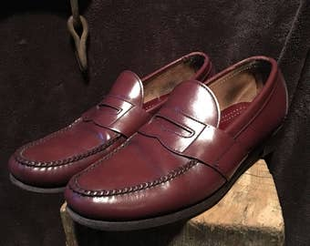 Size 10 mens cole haan penny loafers