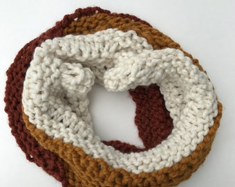 Ombre Infinity Scarf: Fire