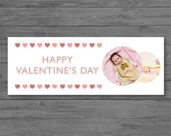 Valentine's Day Facebook Cover Photo Template - Photographer Facebook Timeline Cover Photo - Photoshop Template PSD *INSTANT DOWNLOAD*