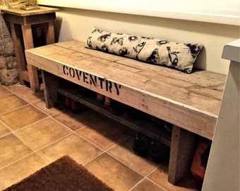 Vintage Style Bench Seat (Medium - 150cm)