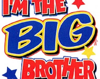 I'm The Big Brother Childrens T-shirt