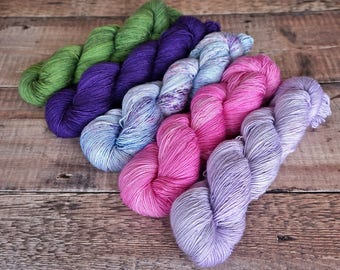 Joji Starting Point MKAL kit: April Showers Bring May Flowers in Chameleon Singles and Silken Singles