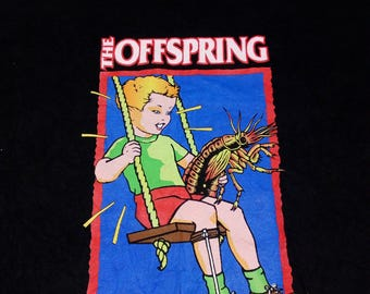 Vintage 90's Authentic The Offspring AMERICANA | Tag GiANT | Made in USA | 100%Cotton | Like NEW Condition