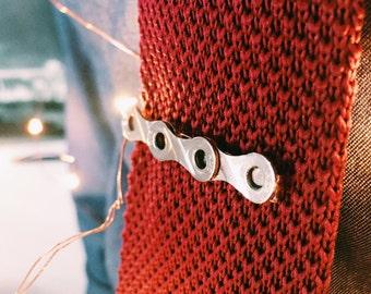 Bike Chain Tie Clip