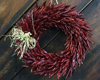 Chile Wreath