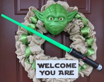 Yoda Wreath