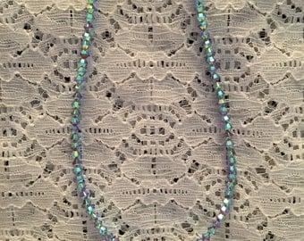 Swarovski  Pacific Opal Crystal Bead Necklace