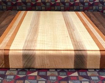 Maple, Walnut, Cherry Cutting Board