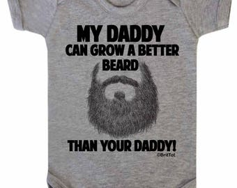 My DADDY can grow a better BEARD than yours