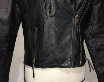 Women's Leather Jacket (Himalaya Motor Bikewear)