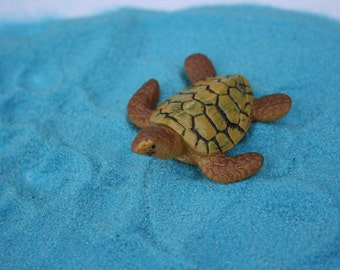 Miniature sea turtle - so cute fairy garden terrarium decoration