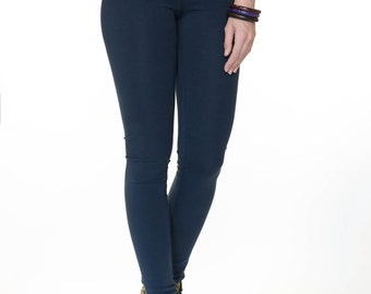 "Legging marine blue in length ""34 or ""36 for long legs"
