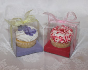 Cupcake Favor Boxes - kit of 10