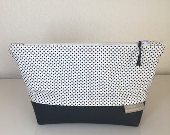 Make-up bag polka dot