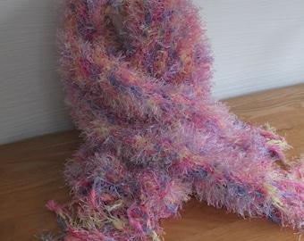 Soft fluffy scarf