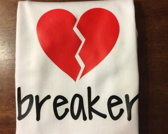 Heart breaker onesie