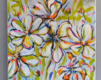 FLOWERS ORIGINAL PAINTING