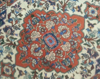 Persian rug Weramin 4.11 × 3.7 ft 150 × 110 cm