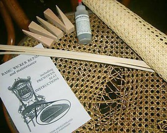 Chair Cane Prewoven Kits, replace your broken seat