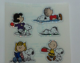 Sandylion Stickers Peanuts, Charlie Brown, Snoopy  (1 mod)