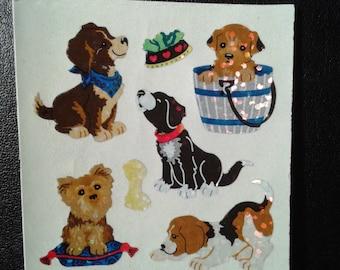 Sandylion Stickers Glittery Dog, Dogs  (1 mod)