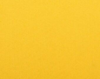 Felt - craft felt yellow / banana 1 mm 40 x 45 cm
