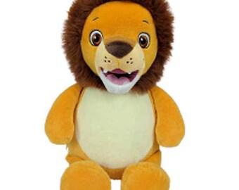 Cubbies Signature Range Lion, Teddy bear, custom bears, embroidered teddy, baby gift, personalised teddy, bull dog