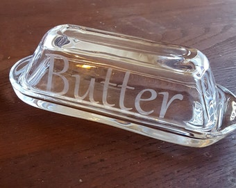 Butter Dish with Handles