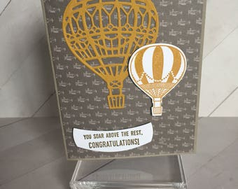 Graduation/Congratulations Handmade Greeting Card