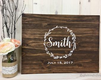 Wedding Guest book // Wood Guest book // Alternate Guest book // Wedding Sign // Rustic Wedding Guest book // Custom Guest Book