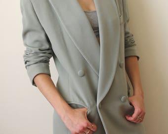DONNA KARAN dkny 90's minimal blazer jacket Sz M
