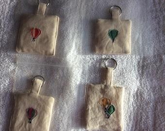 Balloon keyring, present, key ring,