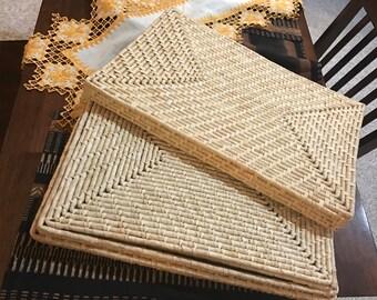 Sweet grass place mats