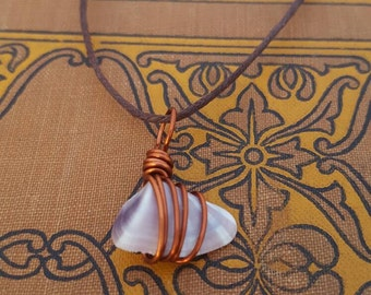 Purple shell with copper