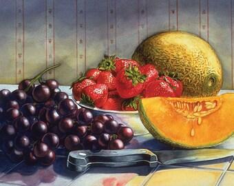 Cantaloupe - Still Life