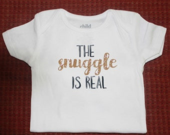 Baby onesie/the snuggle is real
