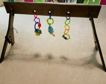 LOCAL DELIVERY: Modern Baby Activity Gym- Wooden Toy