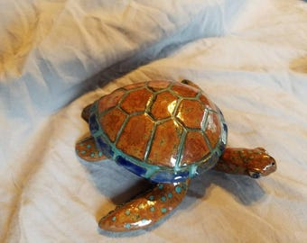 Sea Turtle Jewelry Trinket Dish