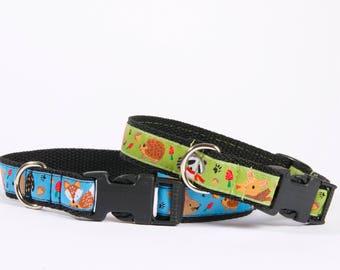 Dog Collar-Funny Dog Collar-Dog Lover Gift-Pet Collar-Puppy Collar-Cartoon Dog Collar-Adjustable Dog Collar-Animal Collar