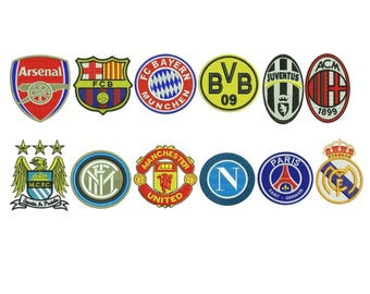 Embroidery Designs European Football