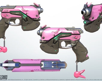 D.va from Overwatch gun weapon