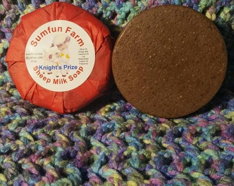 Knights Prize - Dragons Blood Sheep Milk Soap