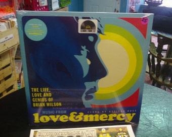 Brian Wilson The Beach Boys Love and Mercy Soundtrack. Vinyl Record. Vinyl Album. LP