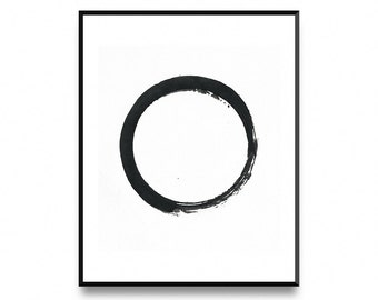 Zen wall print, zen wall art decor, zen decor wall art, zen art, meditation art, zen artwork, zen art print