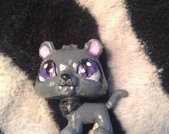 Black ( female) lion lps custom