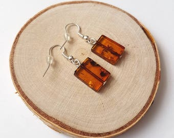 "Amber earrigs ""conac square"""